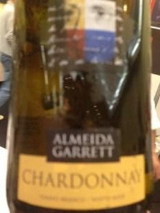 Almeida Garrett Chardonnay Branco 2012