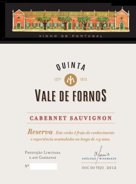 VALE DE FORNOS CABERNET SAUVIGNON TINTO