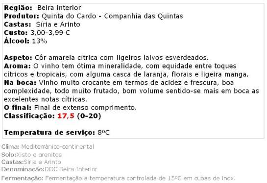 apreciacao QC B 2013