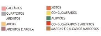 """Solo Solos argilo-calcários de origem jurássica e triássica. Solos arenosos oriundos do Pilo-Plistocénico e solos de aluvião. Os solos mais adequados à vinha, são os típicos """"barros"""", solos argilosos com maior ou menor teor de calcário, que criam as melhores uvas para vinhos de superior qualidade. Cruzada por uma rede de pequenos rios, o Cértima, o Levira que é afluente do anterior, o Águeda, o Boco e o Varziela, a região engloba uma série de terrenos variados que vão do Triássico ao Plio-plistocénico, passando pelos Jurássico inferior, médio e Arenitos."""