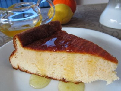 Pastel turco de iogurte grego