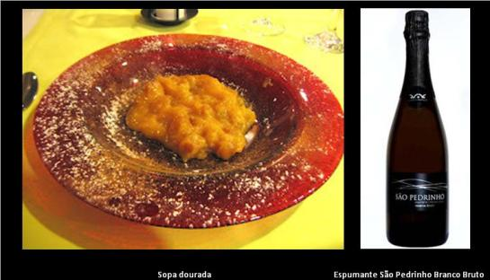 750g de açúcar, 300g de pão-de-ló; 15 gemas de ovos; canela em pó.   Junte o açúcar com 3 decilitros de água , leve ao lume e deixe ferver até obter ponto de cabelo (160ºC). Corte o pão-de-ló em fatias grossas, passe pela calda e ponha com muito cuidado na travessa. Adicione um bocadinho mais de água à calda e deixe ferver até ao ponto de pérola (108ºC). Junte as gemas num recipiente (apenas cortadas ao meio com uma faca), e junte-lhes a calda. Leve ao lume a engrossar e deite sobre as fatias de pão-de-ló. Polvilhe tudo com canela.