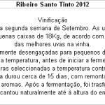 FT Ribeiro Santo Tinto 2012