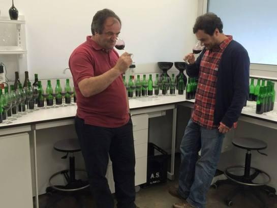 Enólogos  Anselmo Mendes e Diogo Da Fonseca Lopes