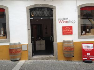 Ervideira Wine Shop Évora