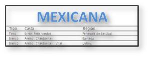 1 Mexicana