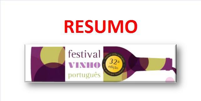 32º Festival do Vinho Português Bombarral 2015 – RESUMO