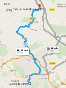 3 - Taberna Zé Cristino até Castelo de Ourém