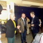 3 vultos! Chef Hernâni, Eng Carlos Lucas e Dr. Vasco d'Avillez, presidente da CVR de Lisboa