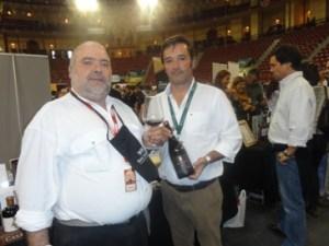 Com o Engº Pedro Camacho Simões da Casa Agrícola Horácio Simões