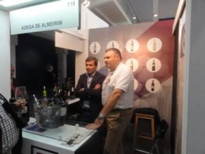 AC Almeirim: Eng Romeu Gonçalves e Sr. Ricardo Matias, enólogo e comercial