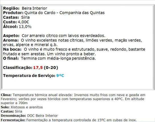 apreciacao Barão de Figueira Branco 2013