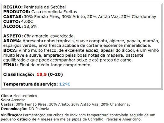 apreciacao Dona Ermelinda Branco 2014