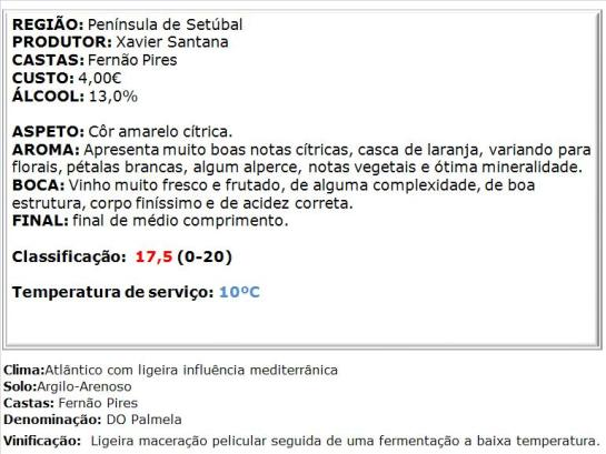 apreciacao Quinta do Monte Alegre Branco 2014