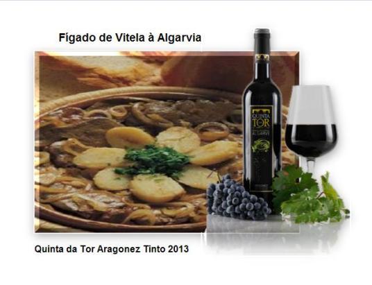 Fígado de Vitela à Algarvia