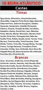IG BEIRA ATLÂNTICO CASTAS