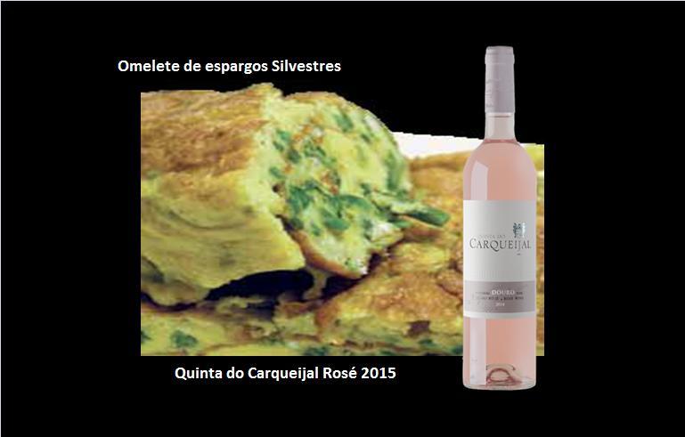 Omelete de espargos Silvestres