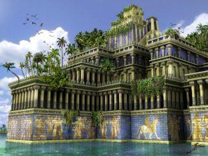 Jardins suspensos da Babilónia, um Éden na altura