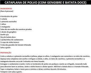 rpCATAPLANA DE POLVO (COM GENGIBRE E BATATA DOCE)
