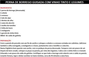 rpPERNA DE BORREGO GUISADA COM VINHO TINTO E LEGUMES