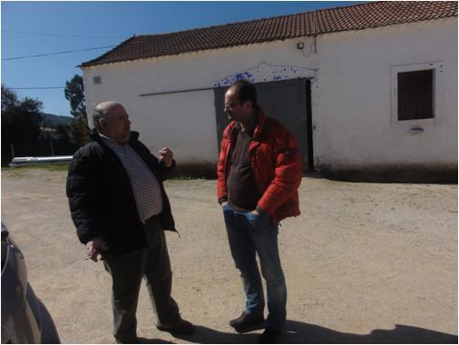 À direita, o Engº Manuel Arsénio