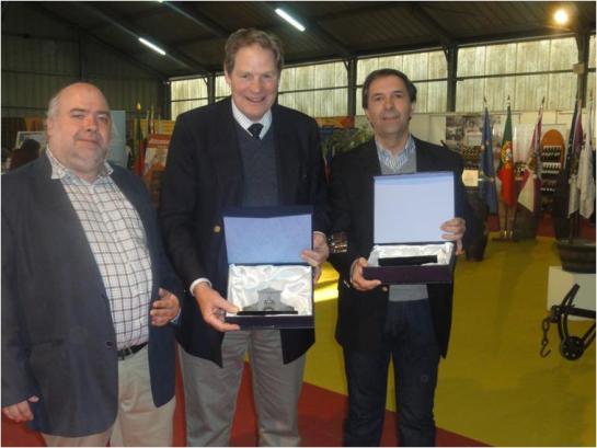 Eu com o Dr. Vasco d'Avillez e Enf. António Ventura