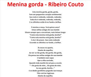 Menina gorda - Ribeiro Couto