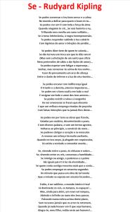 Se - Rudyard Kipling