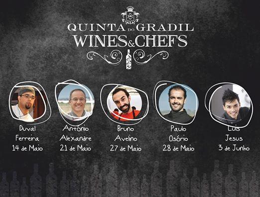 5 datas, 5 Chef's na Quinta do Gradil!