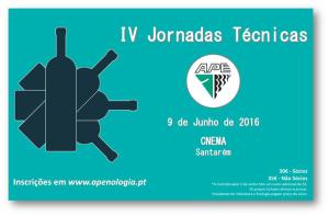 capa IV Jornadas Tecnicas APE 2