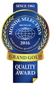 Monde Selection - Grand Gold Quality Award 2016 (Blue version)