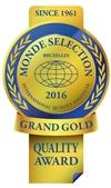 Monde Selection - Grand Gold Quality Award 2016