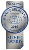 Monde Selection - Silver Quality Award 2016