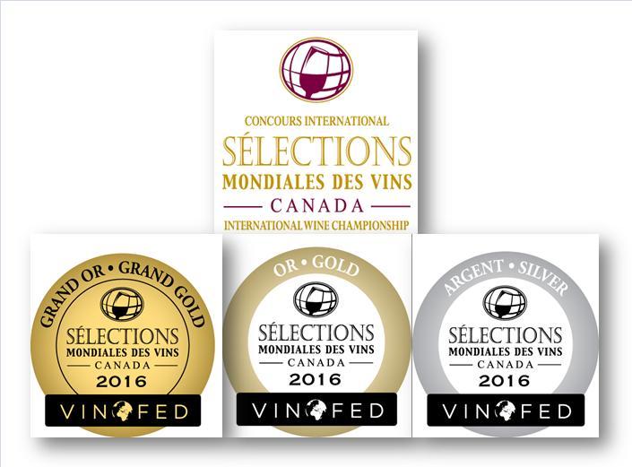 Sélections Mondiales des Vins Canada 2016
