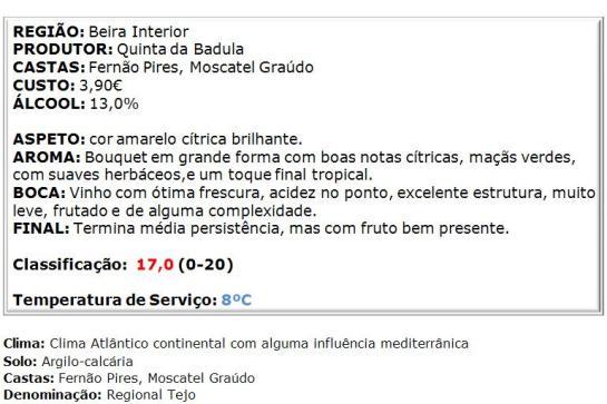 apreciacao Badula Branco 2014