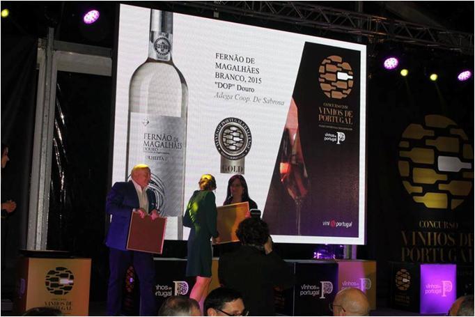 Concurso Vinhos de Portugal 2016 - GRANDE OURO