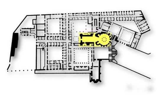 Planta do Convento de Cristo