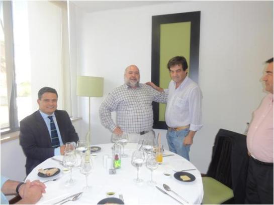 Um encontro sempre caloroso com o meu amigo, Prof. Jorge Guilherme