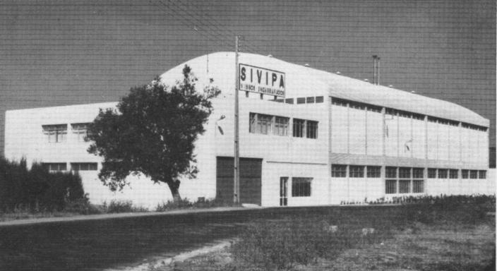 Antigas instalações da SIVIPA