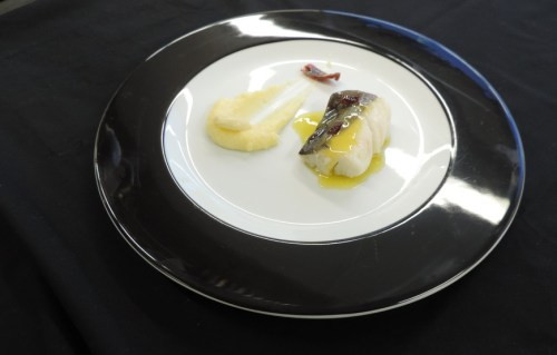 Bacalhau al Pil-Pil de Chefe Luís Baena