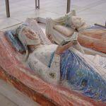 Túmulos de Leonor de Aquitânia e Henrique II de Inglaterra na Abadia de Fontevraud