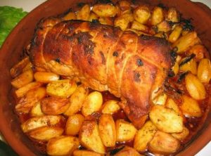 Pratos de Carne de Porco