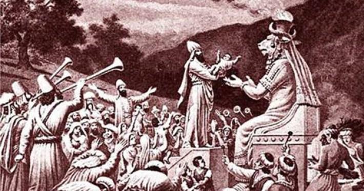 Sacrifício Babilónico em 4000 A.C.
