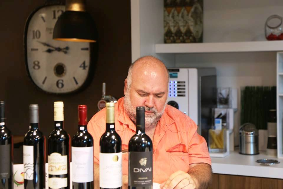 Classificando vinhos enviados