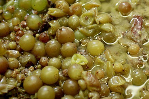 Fermentação pelicular para produzir Orange Wine