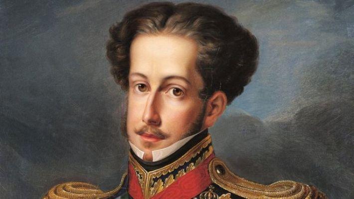 D. Pedro, Imperador do Brasil. O primeiro. Era antes o príncipe regente de Portugal