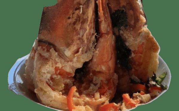 Chefe Hernâni Ermida prepara Camarão tigre na frigideira 3