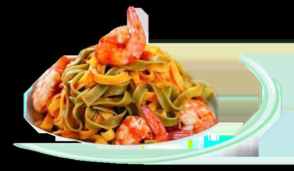 Chefe Hernâni Ermida Prepara Fettuccine com camarão e molho toscano