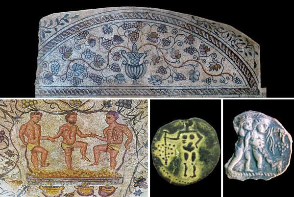 Mosaicos Romanos em Mérida. Os Lusitanos ocupavam território até aqui