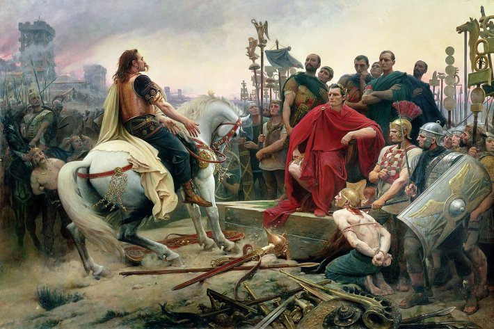 Cerco romano a Vercingetórix